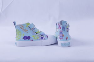 Vulcanized Shoes Nature Rubber Fashion for Girls Bz1605 pictures & photos