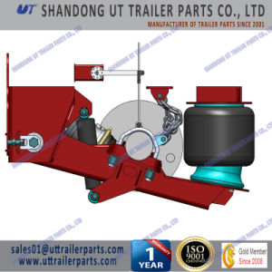 10 Tons Air Suspension for 146mm Round Drum and Disc Brake Grooved Axles pictures & photos