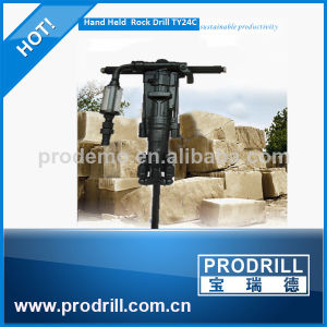 Ty24c Pneumatic Hand-Held Rock Drill for Quarry pictures & photos