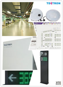 Automatic Car Parking System 2014 From Tectron with Ultrasonic Measuring