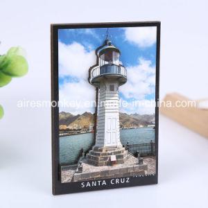 Cheap 3D Custom Tourist Souvenir Wood Fridge Magnet pictures & photos