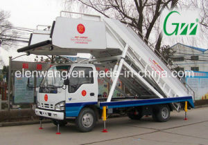 Mobile Aircraft Passenger Stair Truck Type pictures & photos
