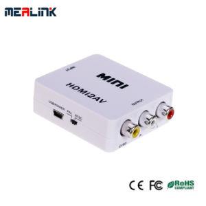 HDMI to AV Converter 1.3V HDMI Converter pictures & photos