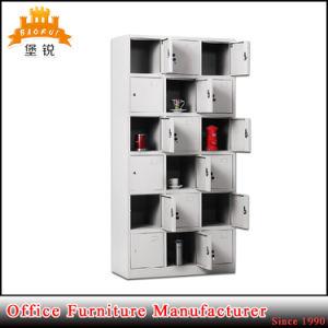 18 Doors Furniture Sports Gym Metal Clothing Storage Cabinet Locker pictures & photos