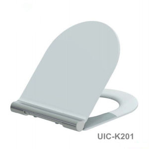 Slow Close Duroplast Toilet Seat with Quick Release Functions pictures & photos