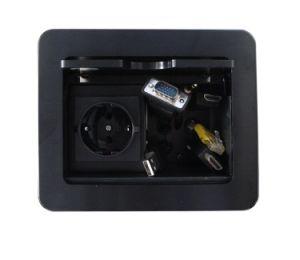 Desktop Cable Box Aluminium Box Socket Lgt-C02 pictures & photos