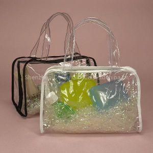 Multicolor Transparent PVC Bag for Cosmetic