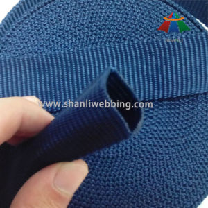 30mm Dark Blue Polypropylene Tubular Webbing for Furniture pictures & photos
