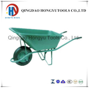 5.5 Cuft Cement Wheelbarrow / China Wheelbarrow Manufacturer (WB6424S) pictures & photos