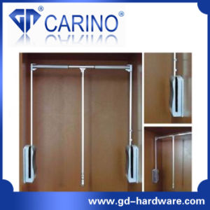 Wardrobe Lift Twin Arm Pull Down Wardrobe Cloth Lift (W616) pictures & photos