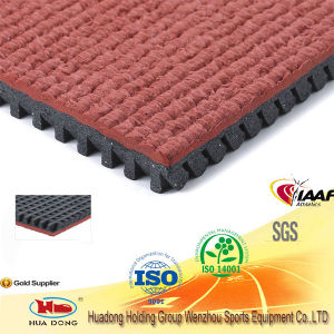 All Weather Use Recycled Rubber Flooring for Outdoor Sports Court pictures & photos