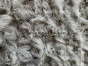 Low End Gament Grey Black Embossing Fabric pictures & photos