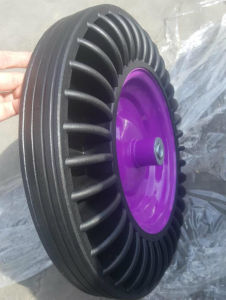16 Inches Special Pattern Sun-Flower Rubber Powder Wheel pictures & photos