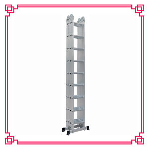High Aluminium Multi-Purpose Transformer Ladder pictures & photos