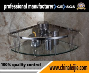 Luxury High Quality Stainless Steel Corner Basket for Bathroom pictures & photos