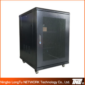 18u 600X600 Floor Network Cabinet with Front Perforated Door pictures & photos