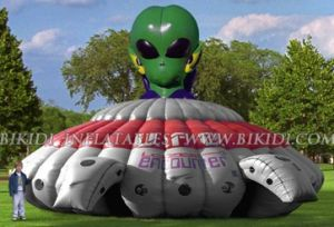 Inflatable UFO Laser Tag (B6037) pictures & photos
