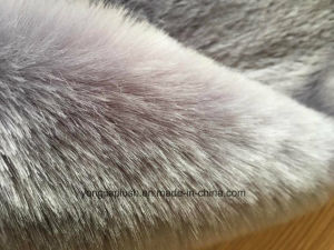 Dark Grey Arctic Fox Faux Fur pictures & photos