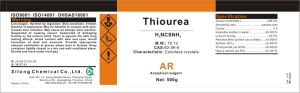 CAS No.: 62-56-6 Thiourea 99% Use in Lab Test pictures & photos