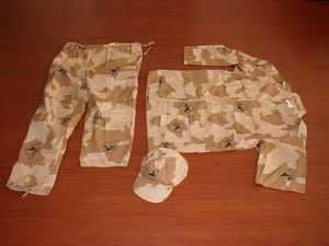 Camouflage Uniform for Army