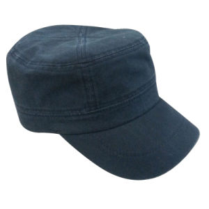 Nice Washed Military Cap with Logo Mt26 pictures & photos