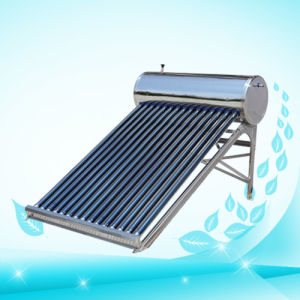 Evacuated Tube Solar Water Heater (JHV-02/58-20) pictures & photos