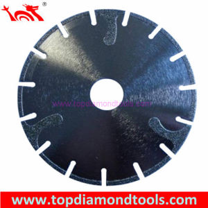 Electroplated Diamond Saw Blade for Cutting Marble pictures & photos
