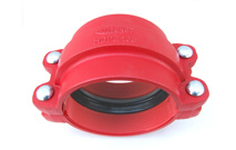 Ductile Iron or Cast Iron HDPE Coupling pictures & photos