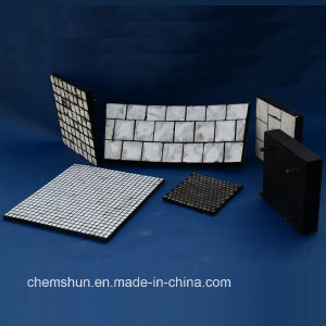 Rubber Composite Wear Liner Plates for Wear Solution (size: 500*500*30mm) pictures & photos