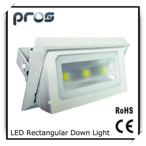 Rectangular LED Downlight Commercial Lighting 3*10W COB pictures & photos
