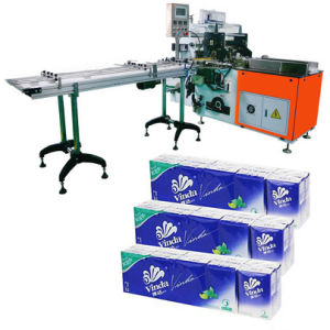 12 in 1 Pocket Tissue Packaging Machine Facial Tissue Machine pictures & photos