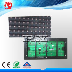 P10 Outdoor SMD Red Monochrome LED Display Module (P10) pictures & photos