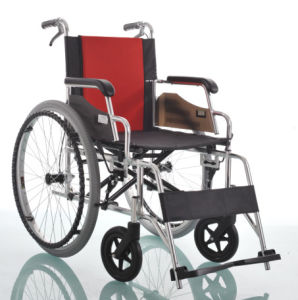 Amw01 Anodized Frame Aluminum Specification of Wheel Chair pictures & photos