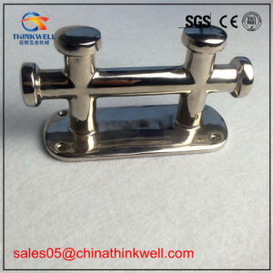 Stainless Steel Marine Hardware Boat Open Hollow Base Cleat pictures & photos