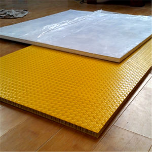 FRP Antislip Polyester Reinforced Composite Honeycomb Panel pictures & photos
