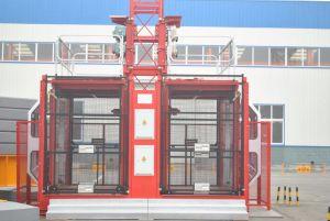 Building Lift/Double Cage Construction Hoist (SC200/200) -2t pictures & photos