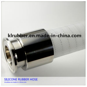 Large Diameter No Smell Medical Grade Silicone Rubber Vacuum Hose pictures & photos