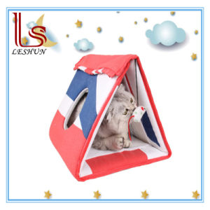 The New Multi-Functional Pet Product Toy Cat Scratch Board House / Tunnel pictures & photos