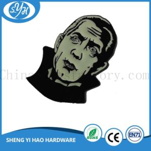 Customized Wholesale Metal Badge Glow in Dark pictures & photos