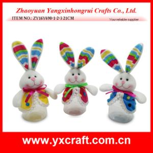 Easter Decoration (ZY16Y690-1-2-3) Gift Decoration Easter Bunny for Sale pictures & photos