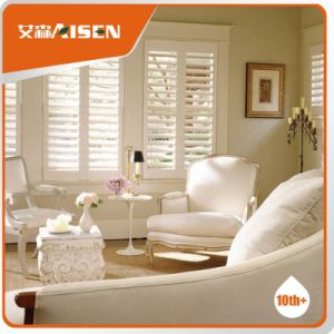 2017 Elegant Home Furniture Basswood Window Plantation Shutters pictures & photos