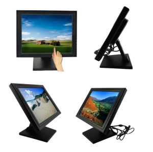15 Inch Touch Screen LCD Monitor with DVI VGA pictures & photos