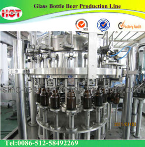 Glass Bottle Beer Production Line (BWFC Series) pictures & photos