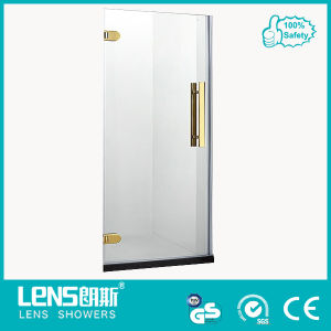 10/12mm Tempered Glass Gold Shower Screen / Cabin (Randy P11)