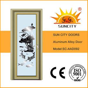 Aluminium Interior Door with Grill pictures & photos