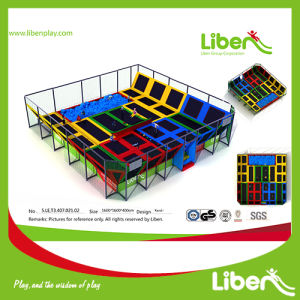 China Professional Manufacturer Large Indoor Kids Trampoline for Park pictures & photos
