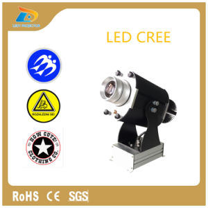 Project Logo in Wall 3000 Lumens Rotating 30W LED Projector pictures & photos