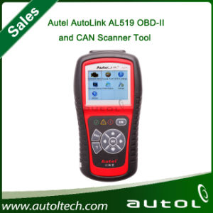 2015 Best Price for Autel AutoLink AL519 Diagnostic OBDII/EOBD CAN Scanner Tool Auto Fault AL519 Code Reader Car Diagnostic Tool pictures & photos