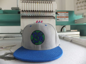 2012 Custom Embroidery Logo for Flat Bill Snap Back Cap