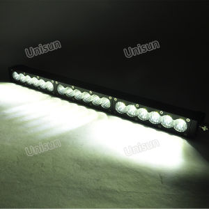 Unisun 20inch White Amber 90W CREE LED Work Light Bar pictures & photos